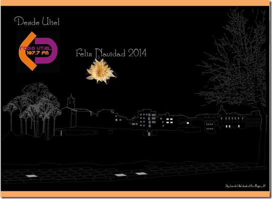 skyline utiel_felicitacion navidad 2014_radio Utiel