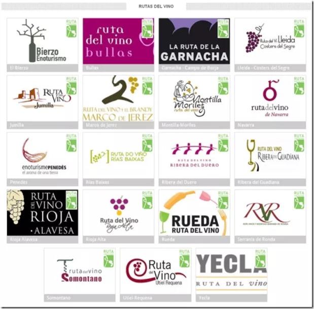 logos rutas del vino